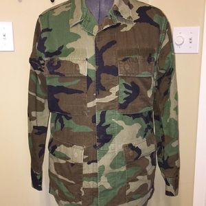 Other - Authentic Army BDU Shirt/Jacket